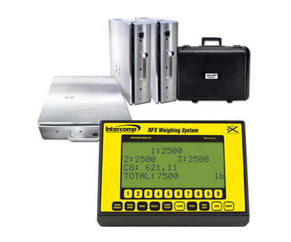 aircraft weighing systems